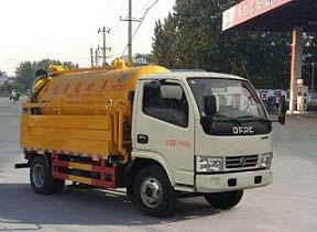 程力重工(东风多利卡)清洗吸污车