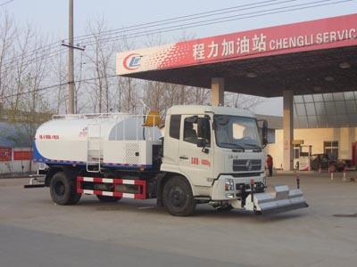 程力重工8吨路面高压清洗车