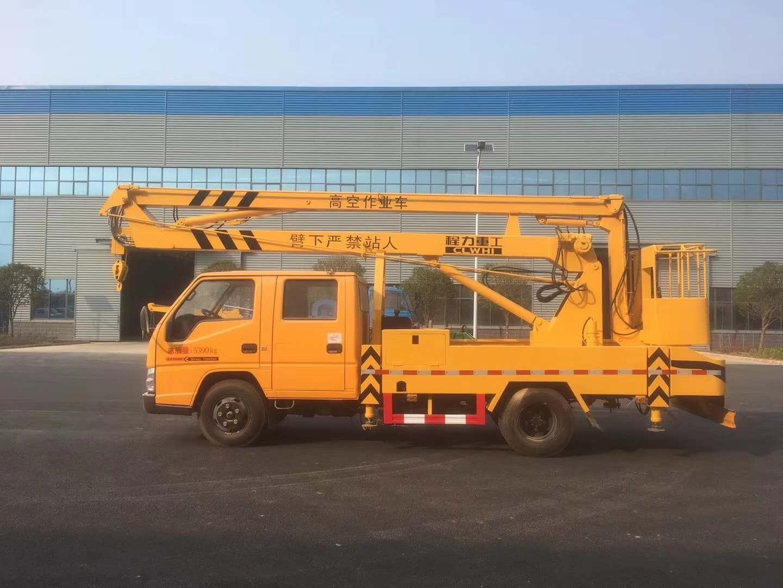 江铃16米双排高空作业车1台