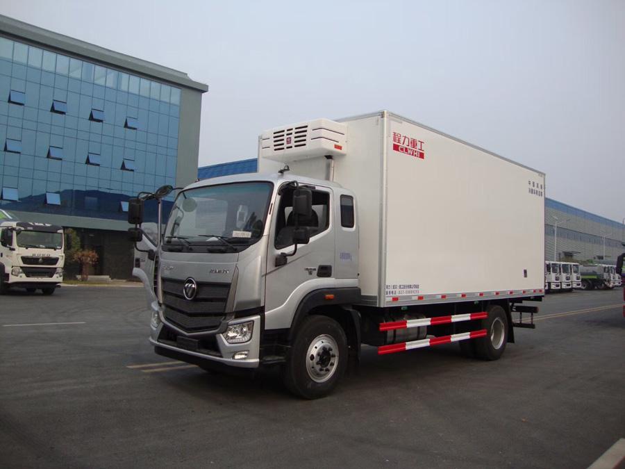 福田欧马可12吨冷藏车